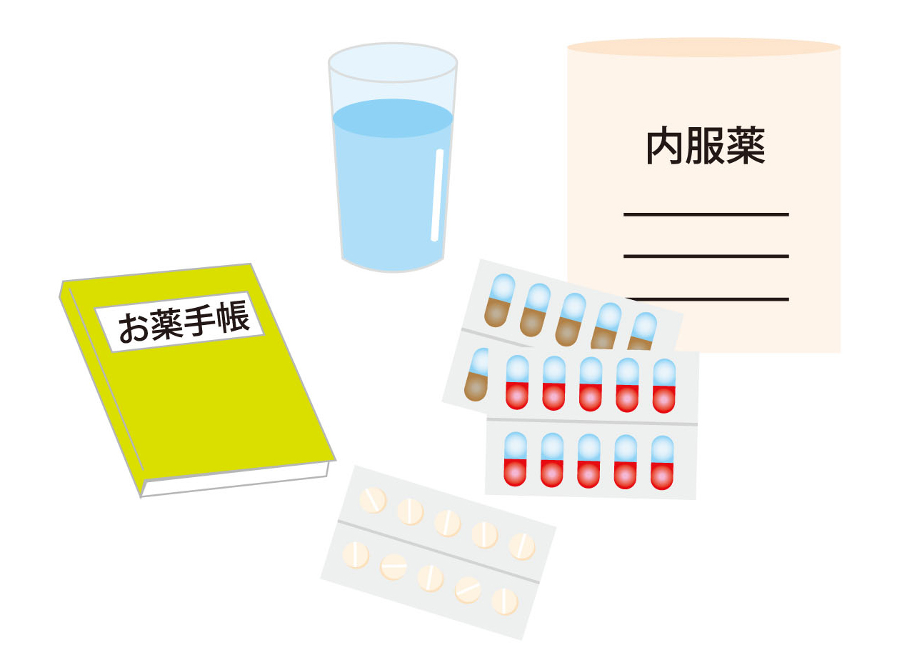 在宅での薬剤管理をサポート